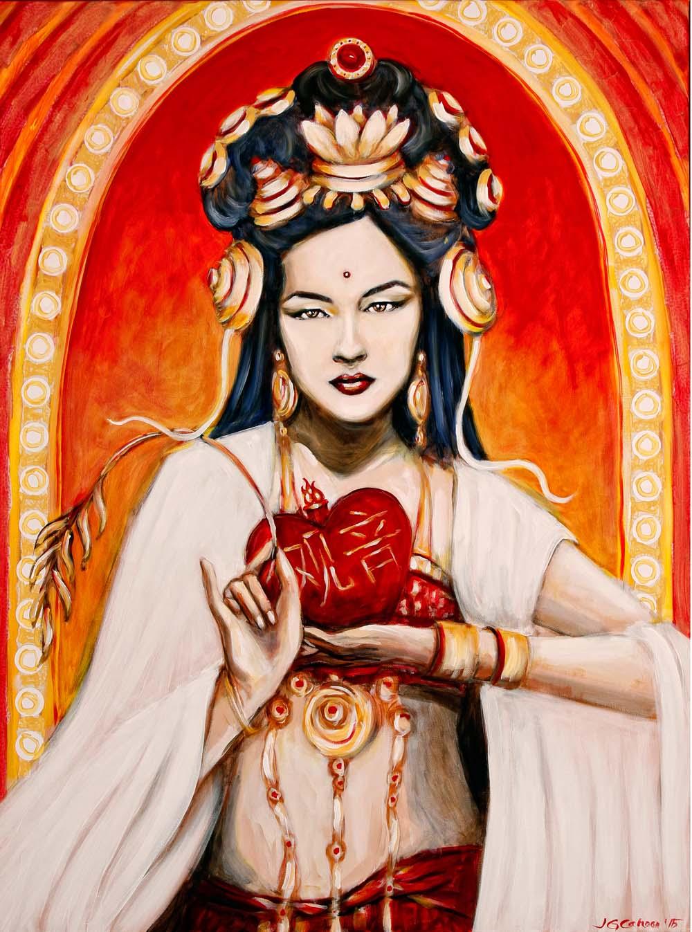 Quan Yin's Sacred Heart