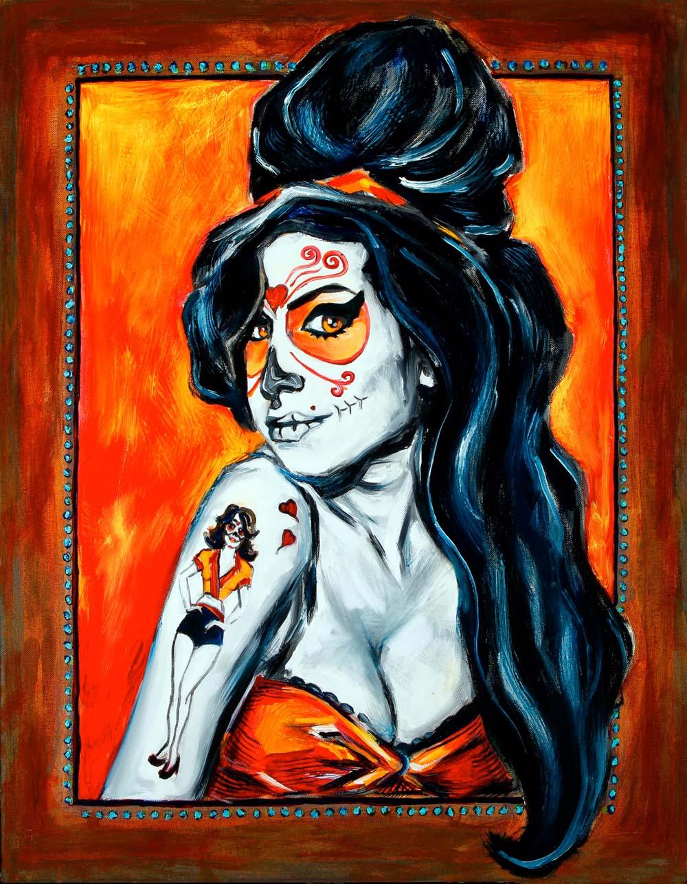 Amy Winehouse, Dia de Los Muertos