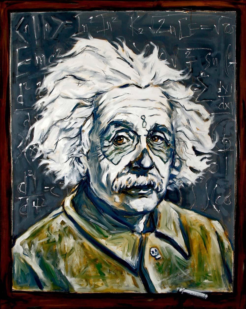 Albert Einstein, Dia de Los Muertos