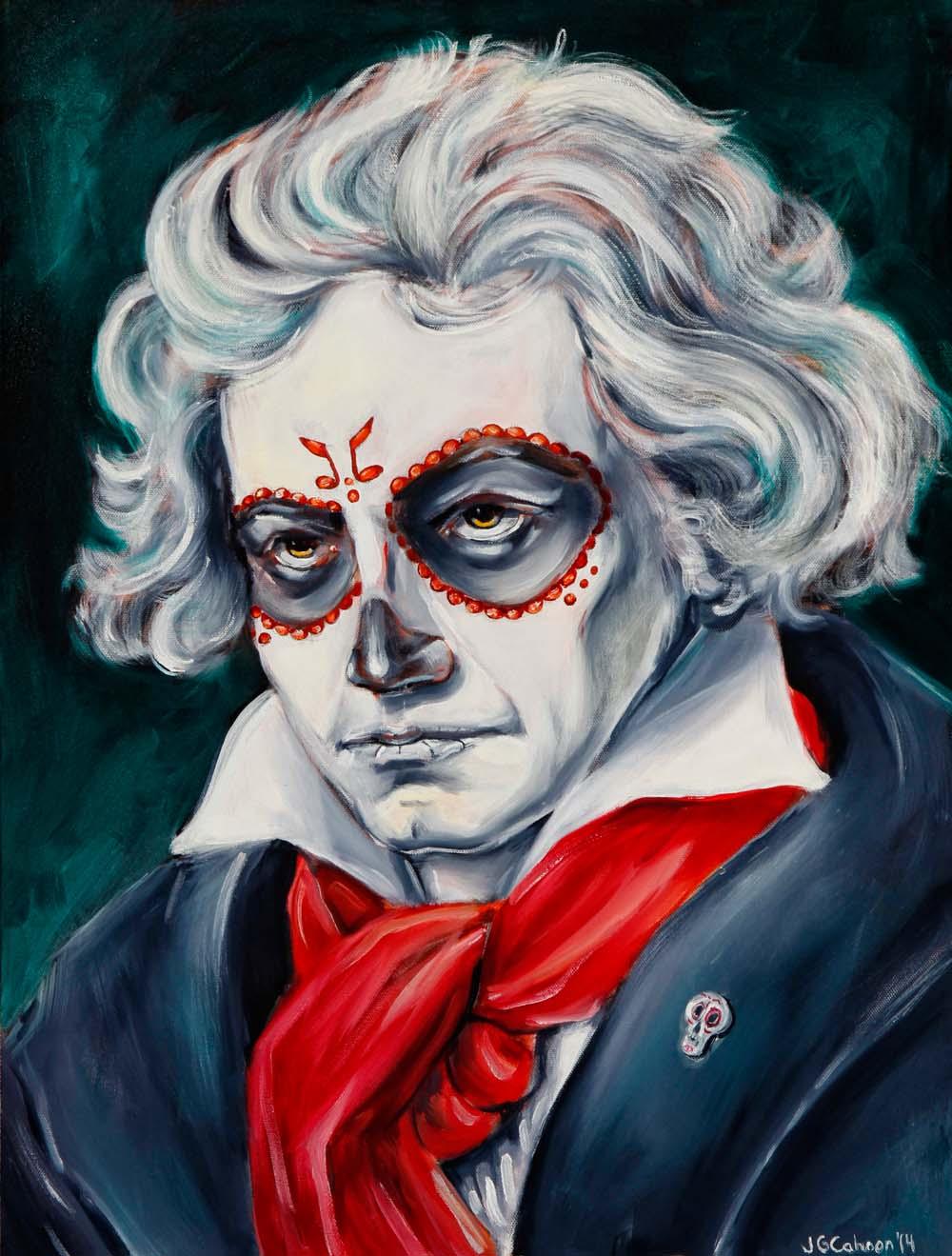 Ludwig van Beethoven, Dia de Los Muertos