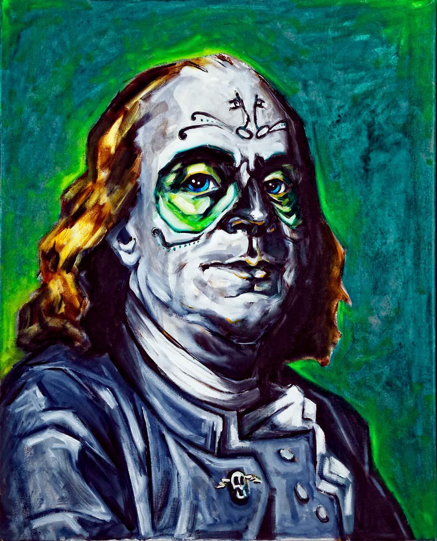 Benjamin Franklin, Dia de Los Muertos