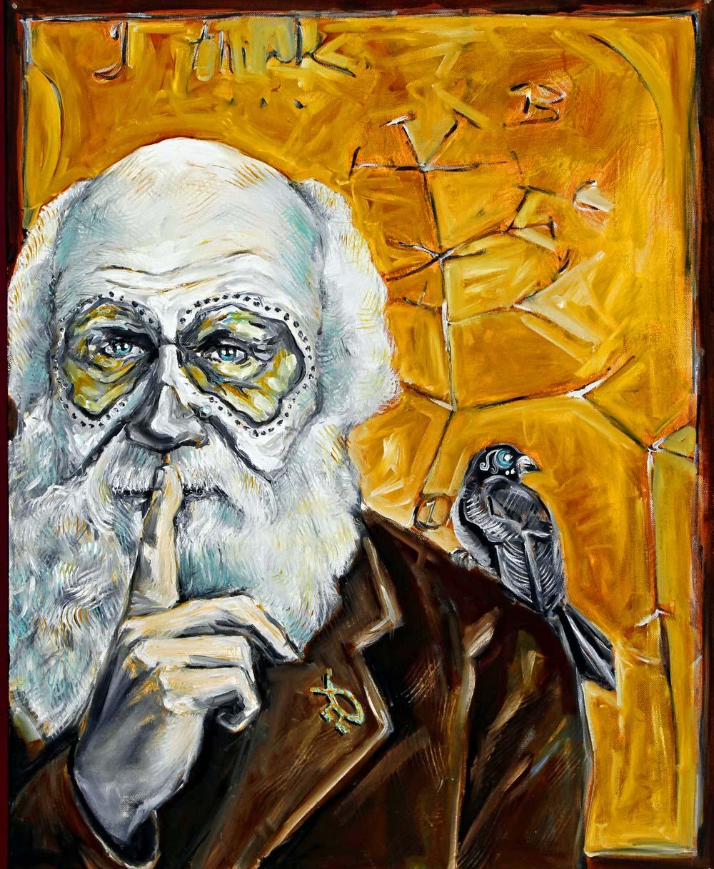 Charles Darwin, Dia de Los Muertos