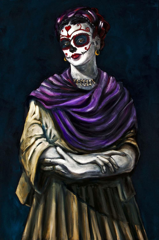 Frida Kahlo (One), Dia de Los Muertos
