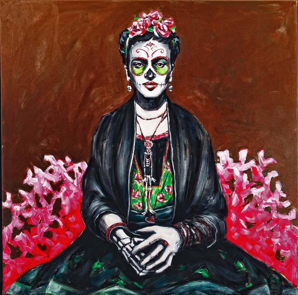 Frida Kahlo (Two), Dia de Los Muertos