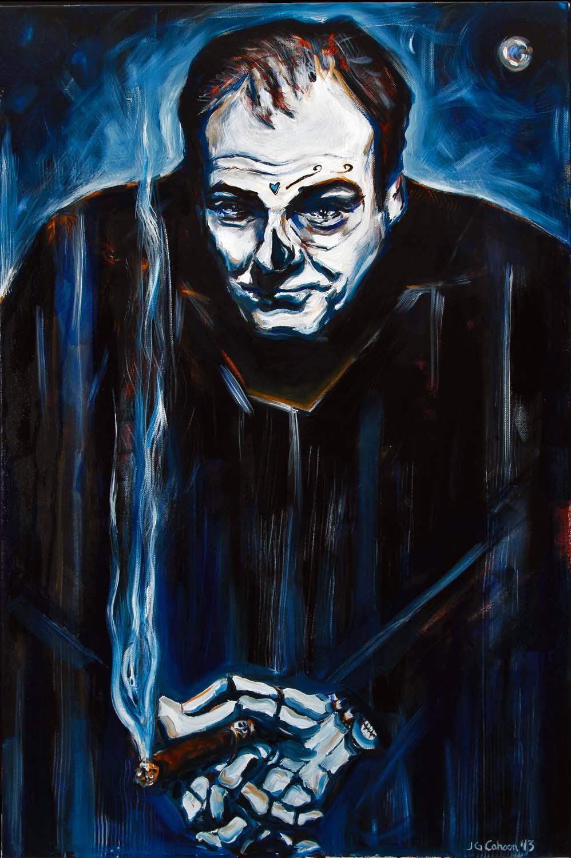 James Gandolfini, Dia de Los Muertos