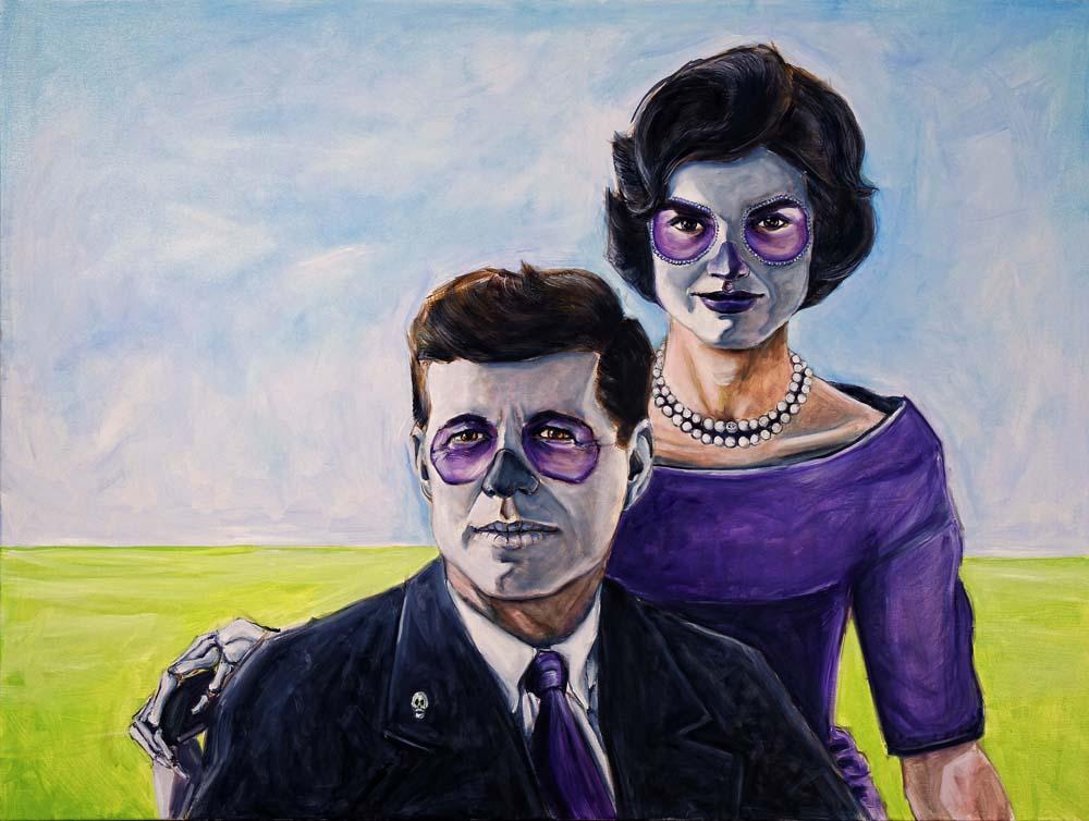John and Jackie Kennedy, Dia de Los Muertos