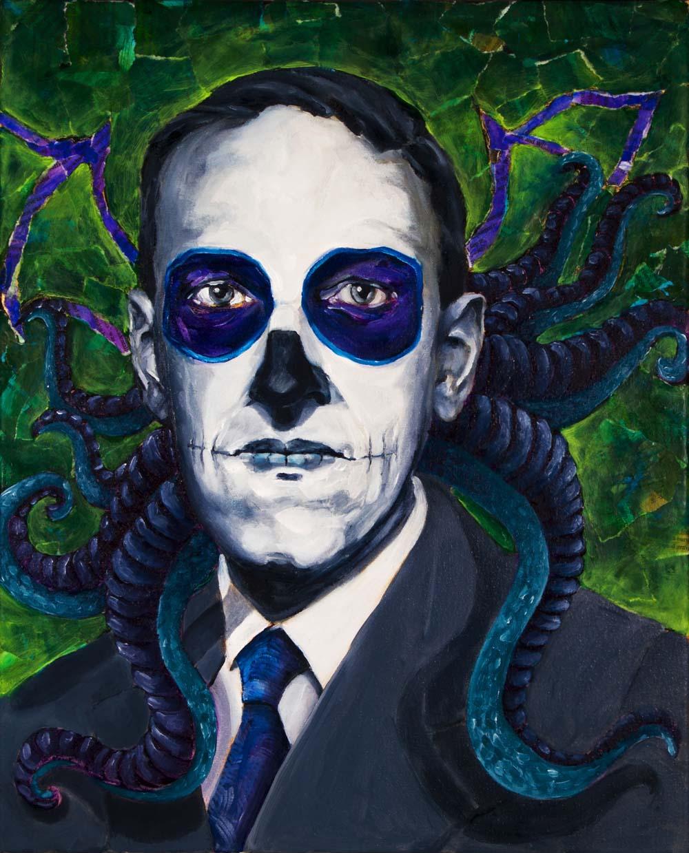 H P Lovecraft, Dia de Los Muertos