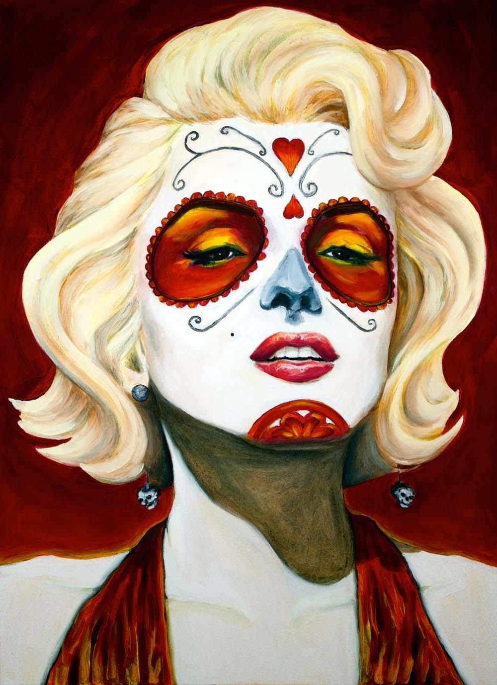 Marilyn Monroe, Dia de Los Muertos