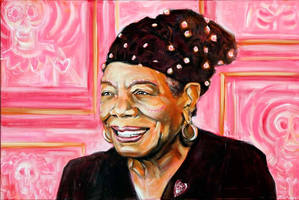 Maya Angelou, Dia de Los Muertos