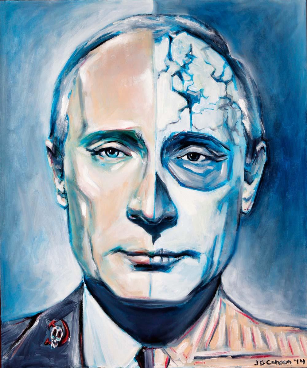 Vladimir Putin, Dia de Los Muertos