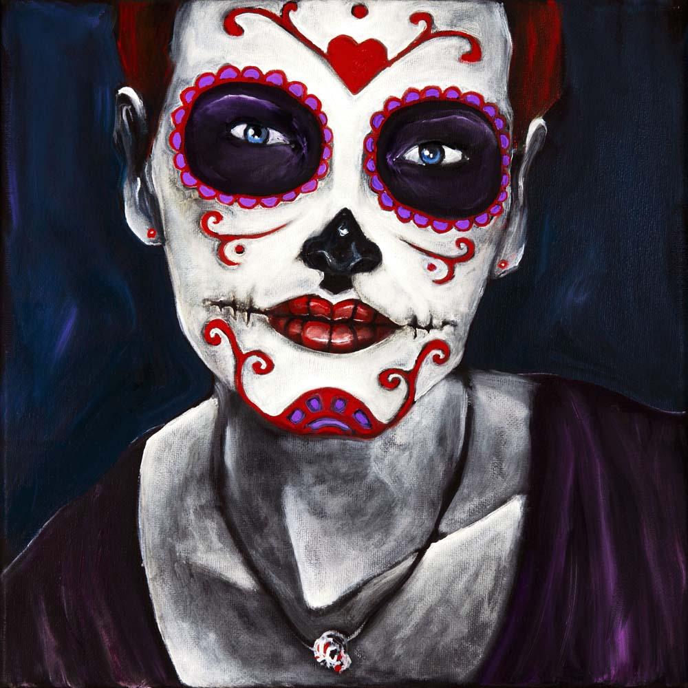 Self Portrait, Dia de Los Muertos
