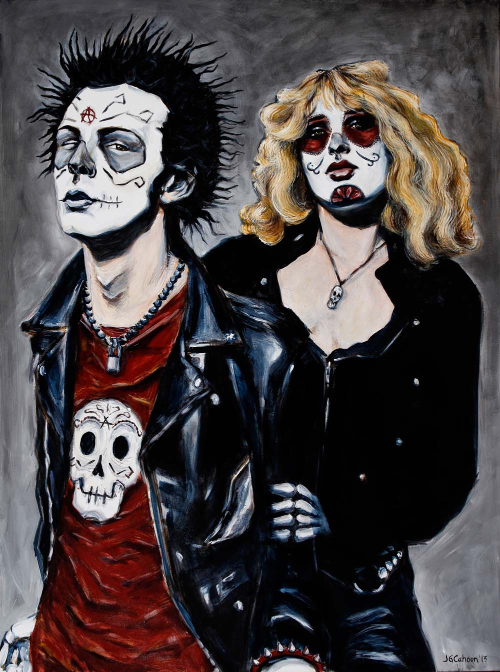 Sid and Nancy, Dia de Los Muertos