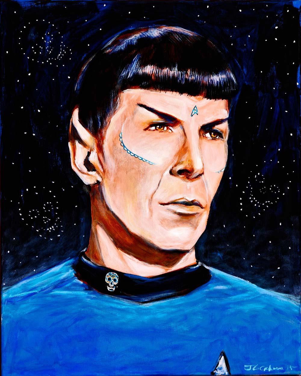 Spock, Dia de Los Muertos