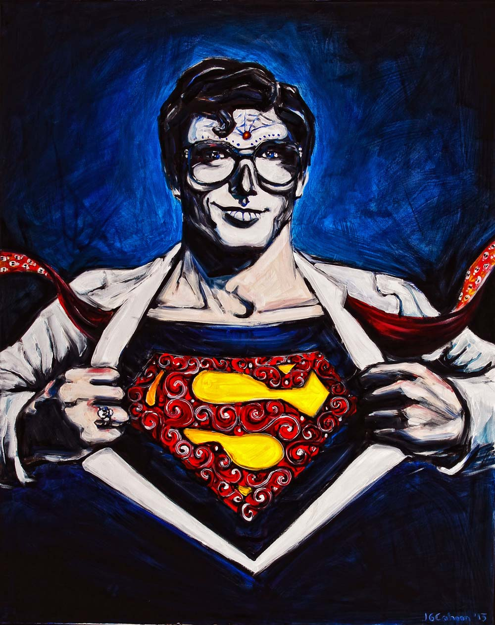 Clark Kent as Superman, Dia de Los Muertos