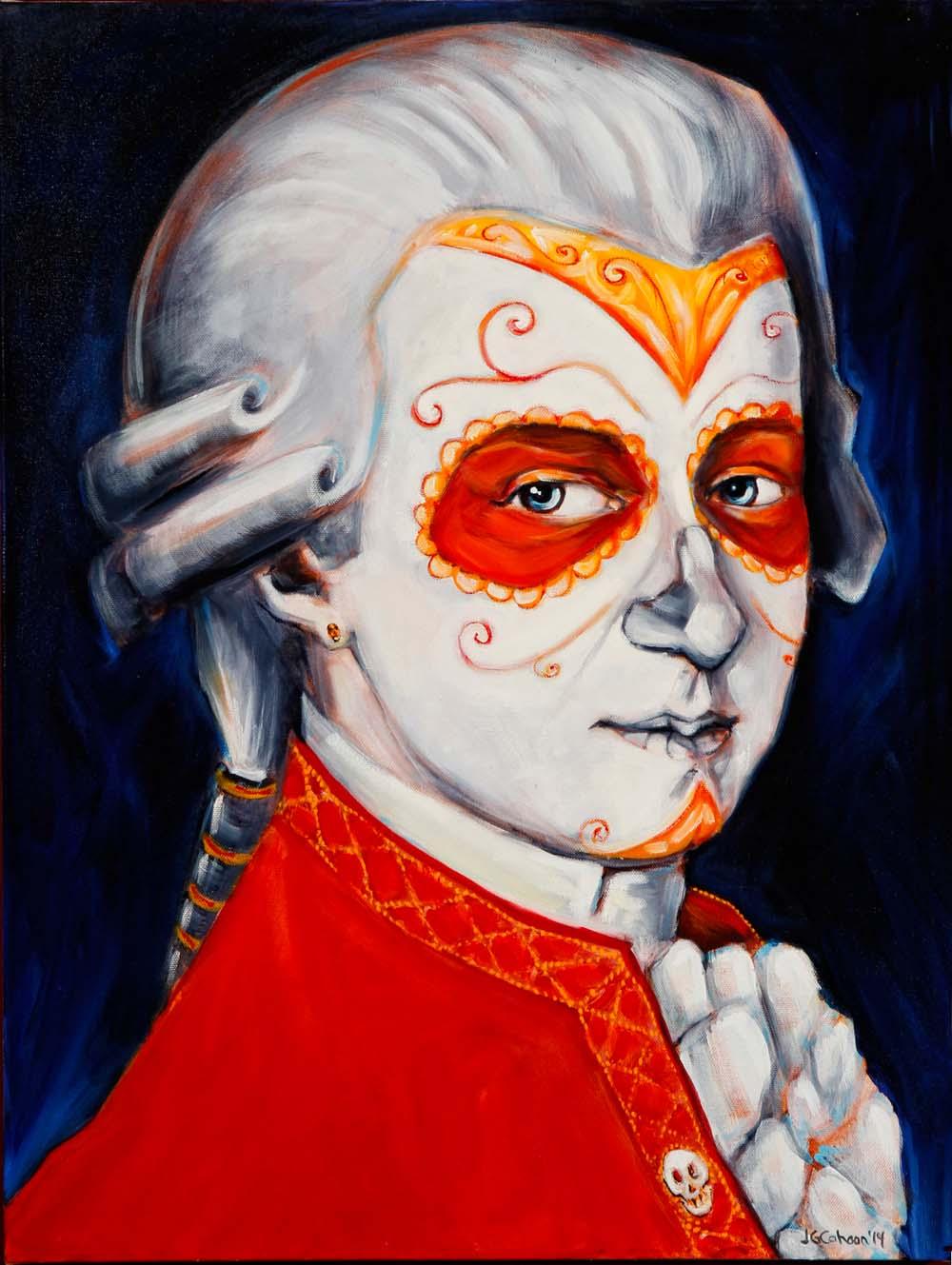 Wolfgang Amadeus Mozart, Dia de Los Muertos