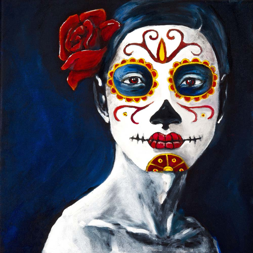Woman Number Two, Dia de Los Muertos