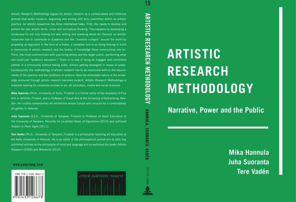 Artistic Research Metodology: Narrative, Power and the Public