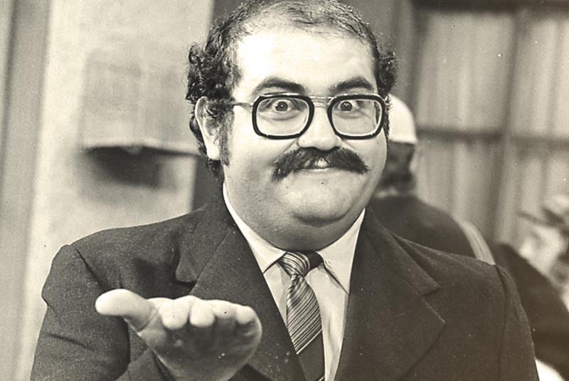 Edgar Vivar en su papel como el Sr. Barriga