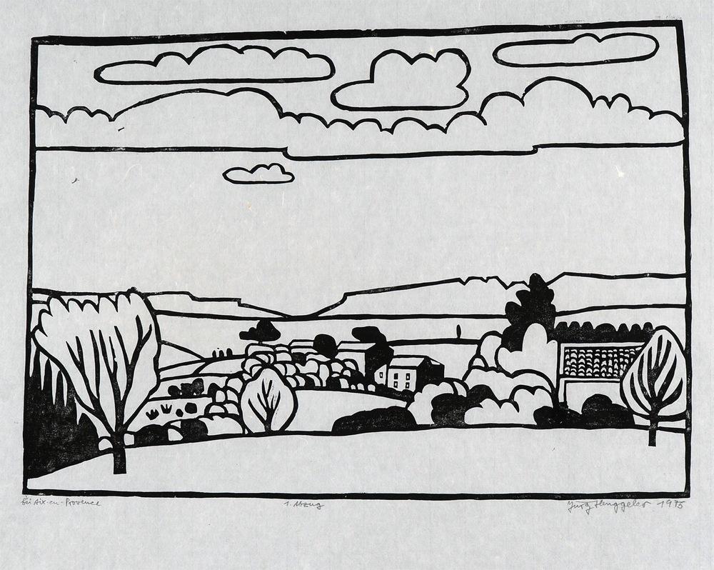 Bei Aix-en-Provence, 1975