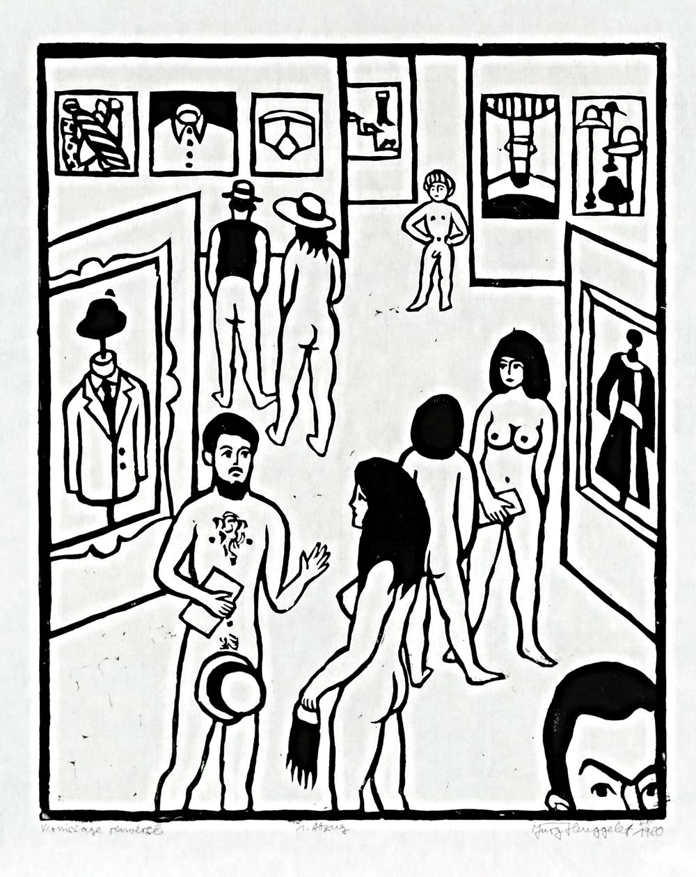Vernissage renversé, 1980