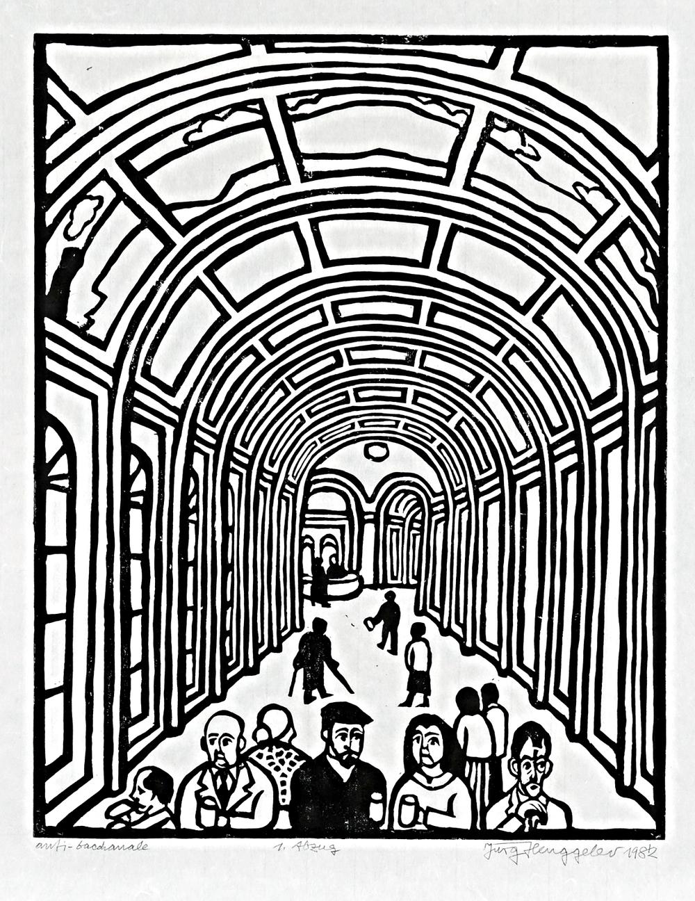 Anti-bacchanal, 1982