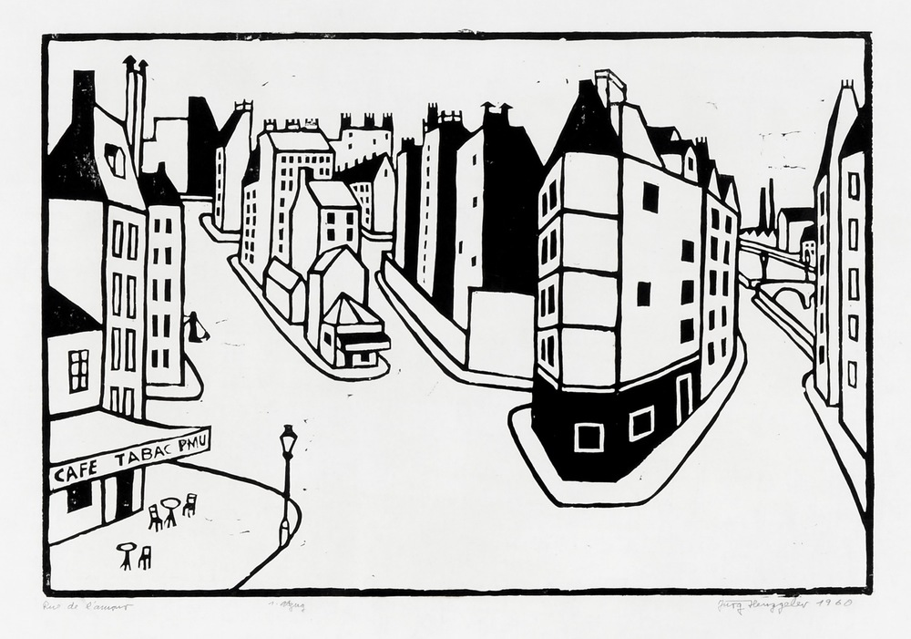 Rue de l'amour, 1960