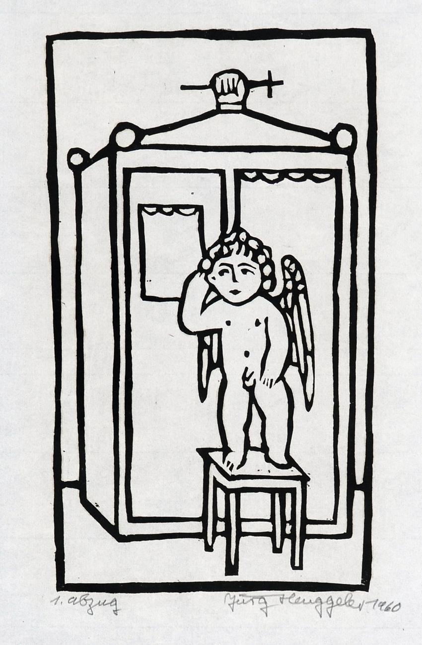L'ange sans gêne, 1960 X