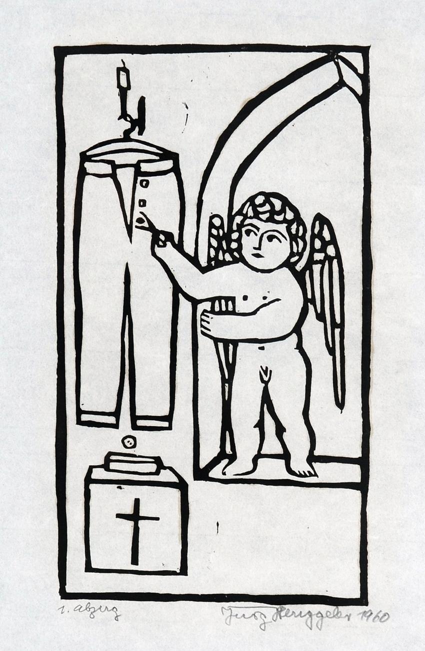 L'ange sans gêne, 1960 XIV
