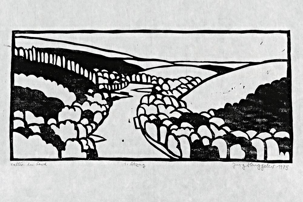 Vallée du Gard, 1975