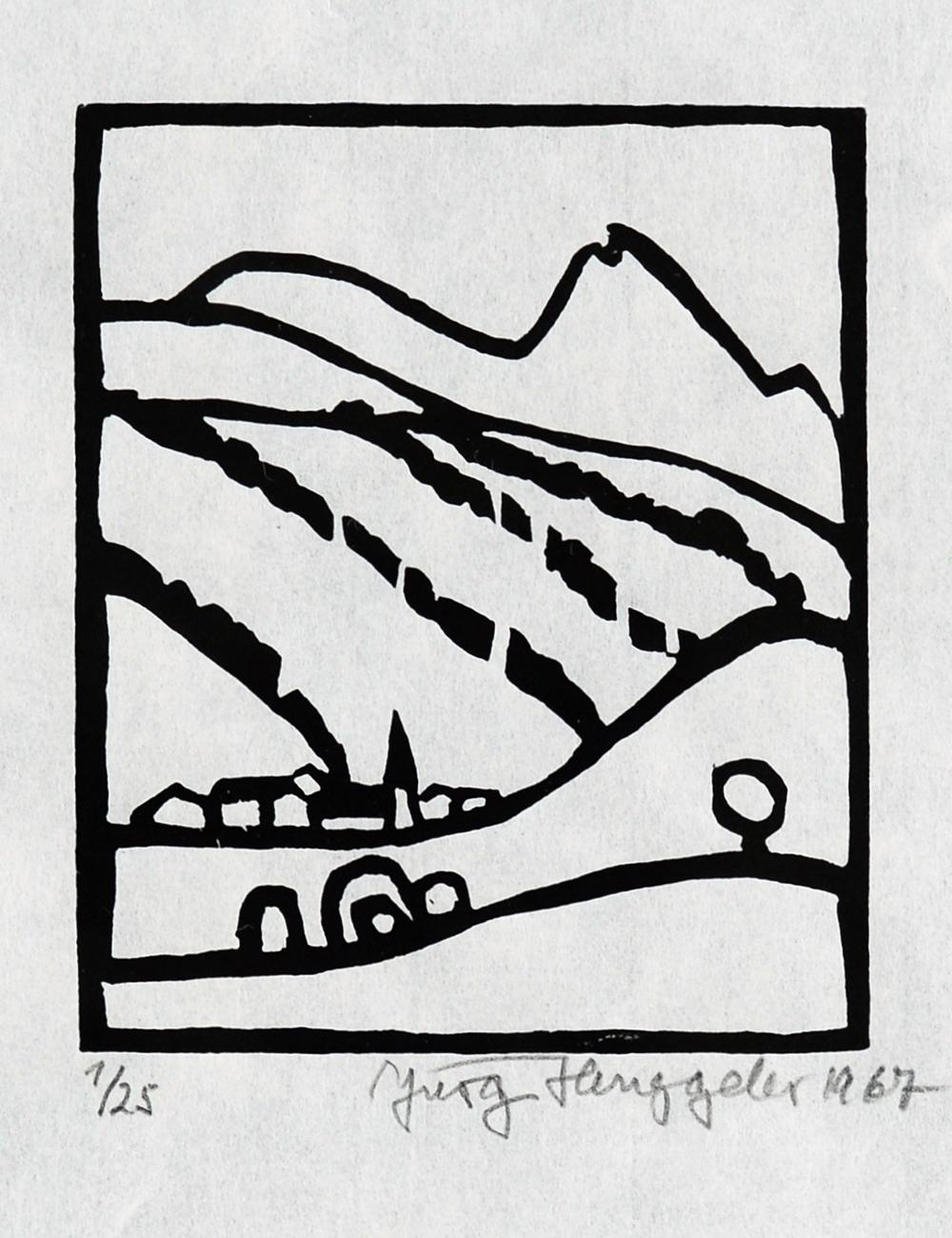 The Alps, 1968 VIII