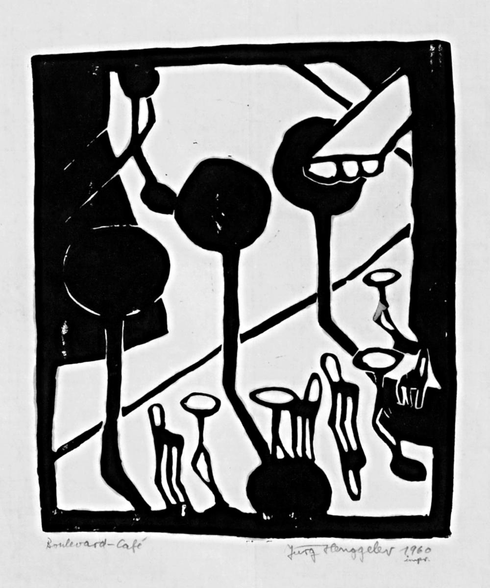 Boulevard-Café, 1960
