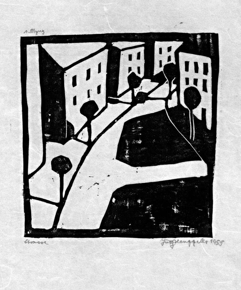Strasse, 1955