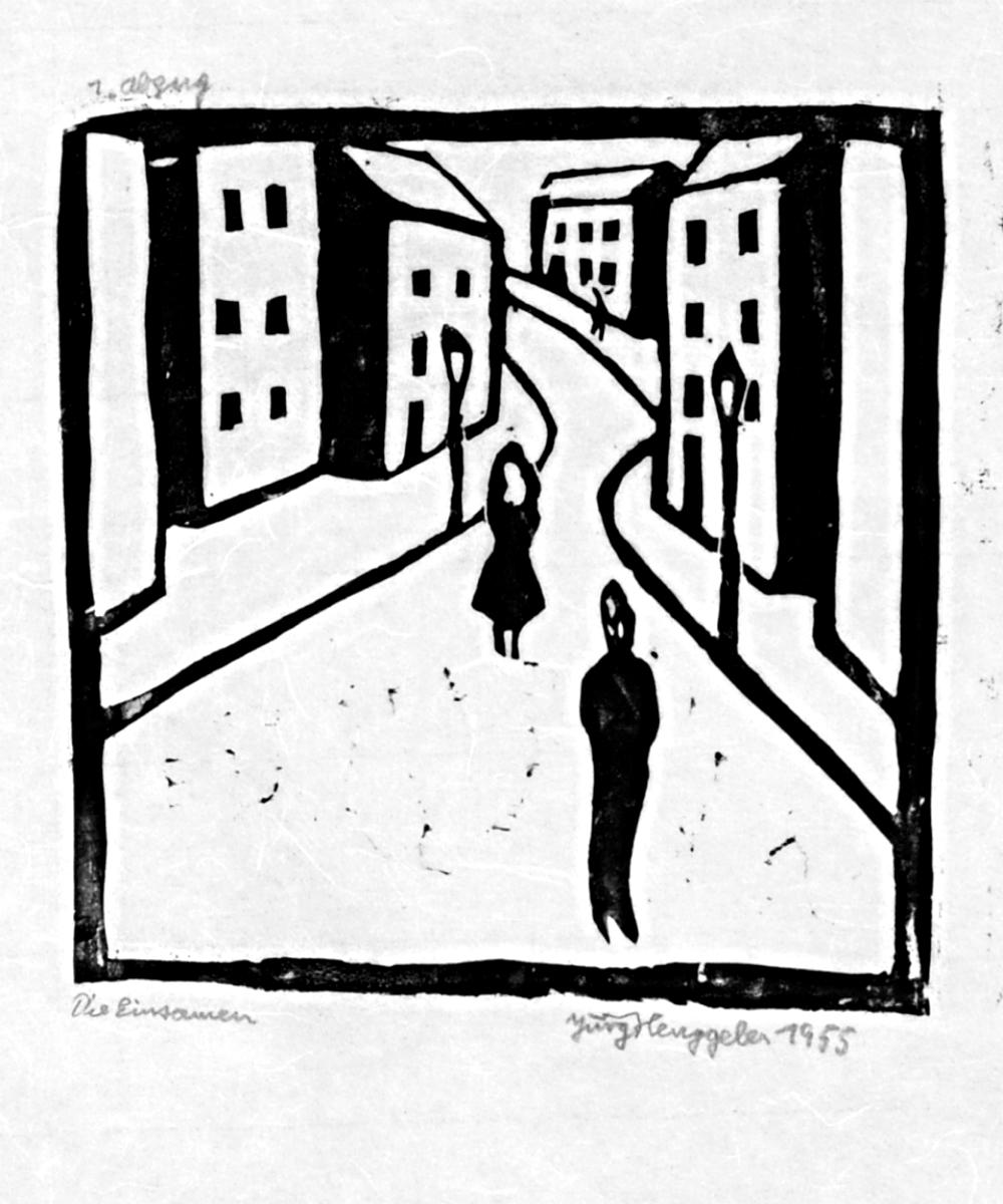 Die Einsamen, 1955