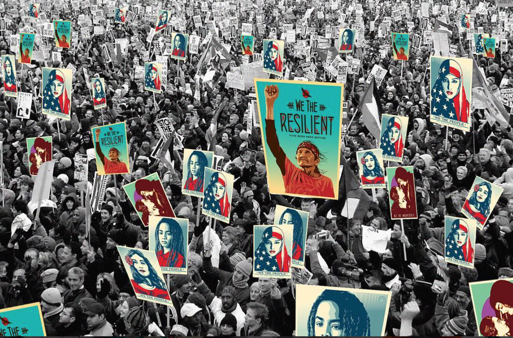 Images by Shepard Fairey.