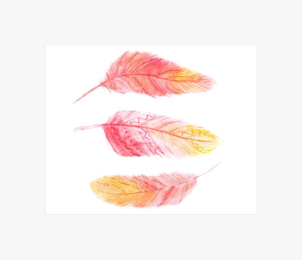 triple pink feathers.jpg