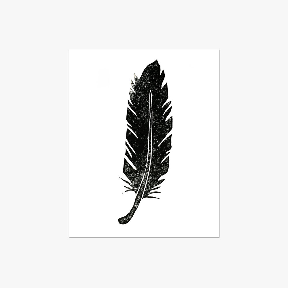 Feather - 5x7""