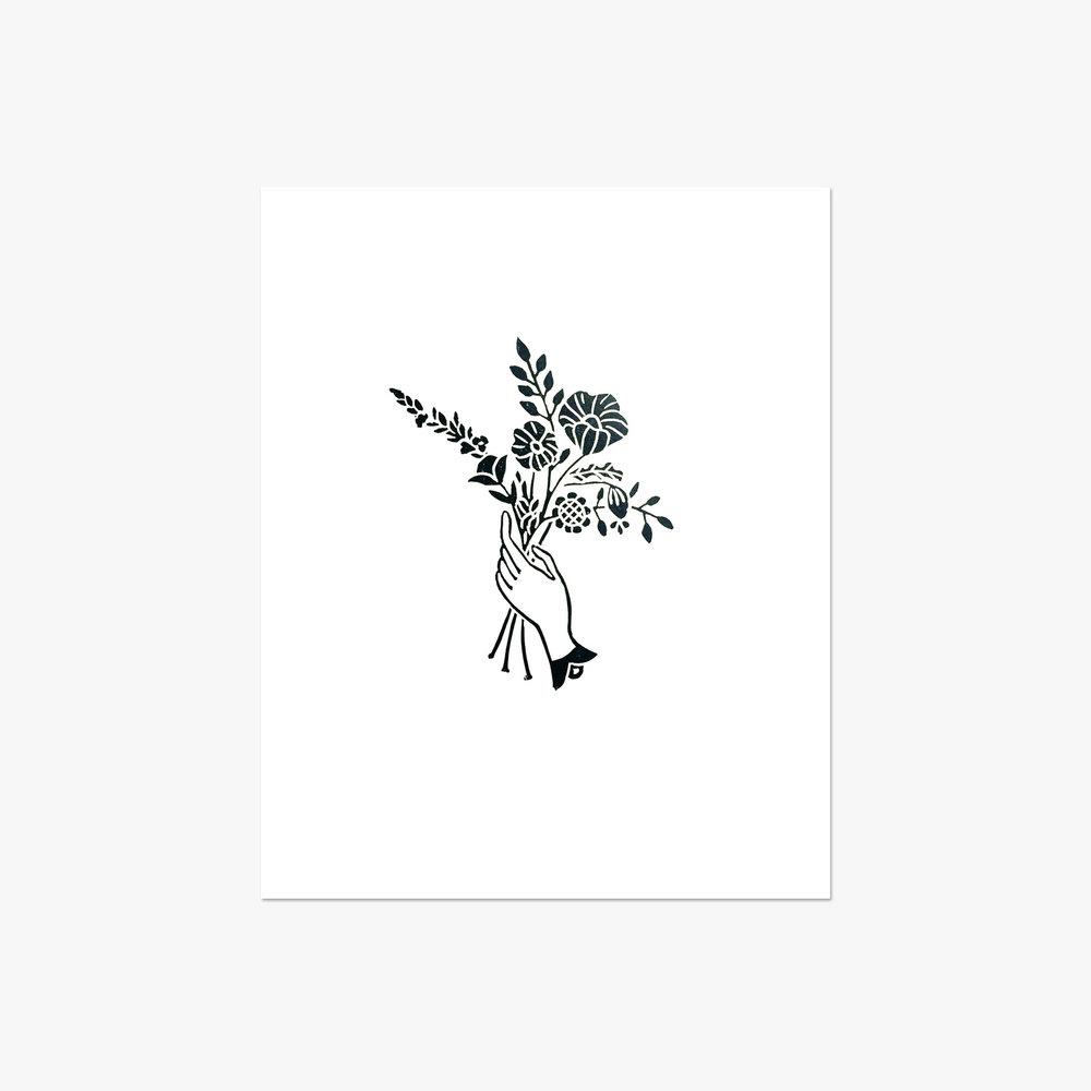 "The Florist - 8x10"""