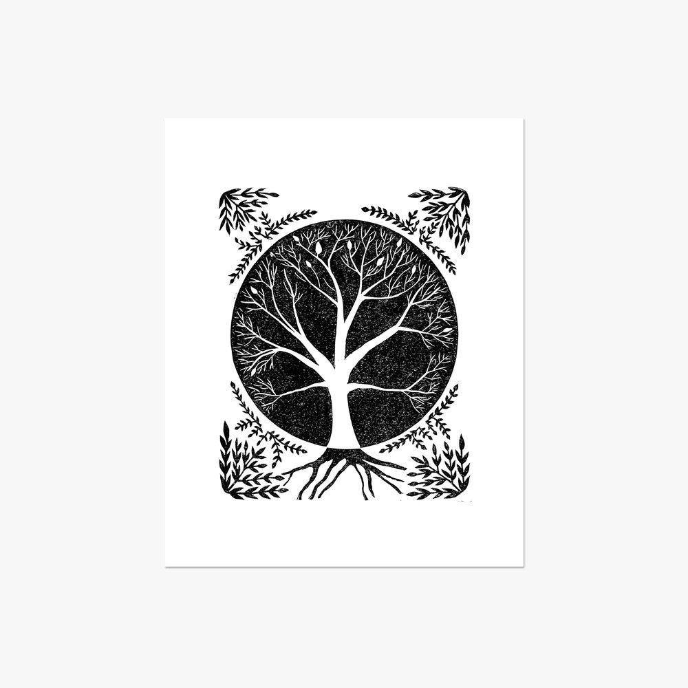 "Tree of Life - 11x14"""