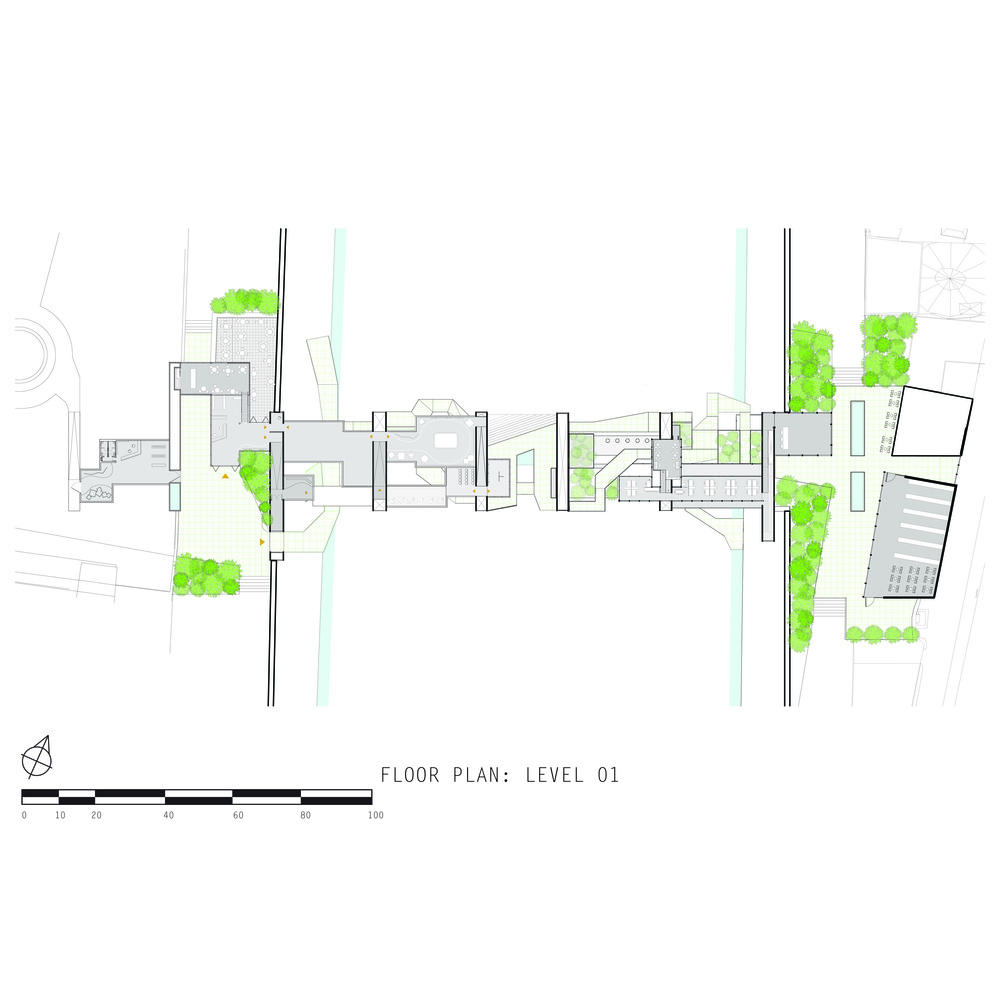 floor plan: level 01 (level of city)