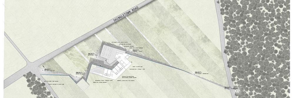 floor plan: level 01 for farmer-chef use