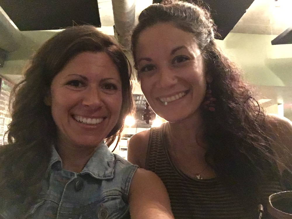 This is me and my friend Patricia, at a vegan restaurant in Nashville. Patricia started out as a client of mine, and as she began healing she also began to spread her message about health to others as well.