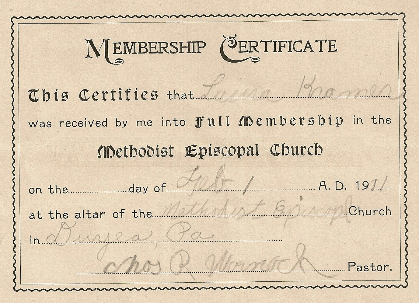 Church membership certificates targergolden dragon church membership certificates xflitez Gallery