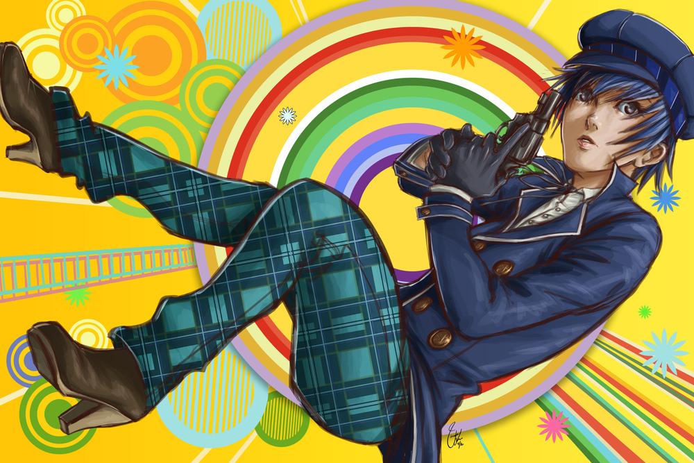 Persona 4 - Detective (Fanart)