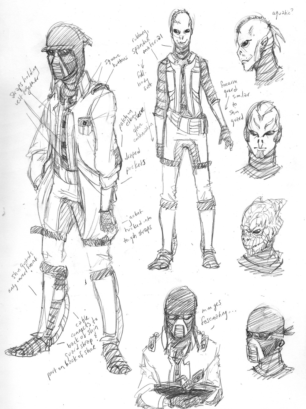 Scholar (Character Design)