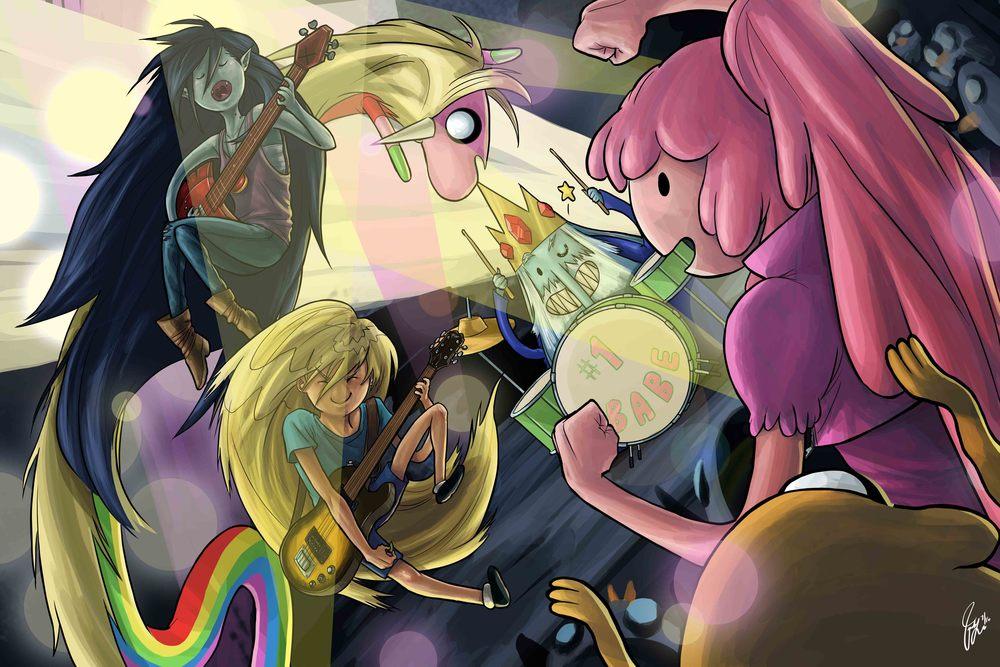 Adventure Time - Concert (Fanart)