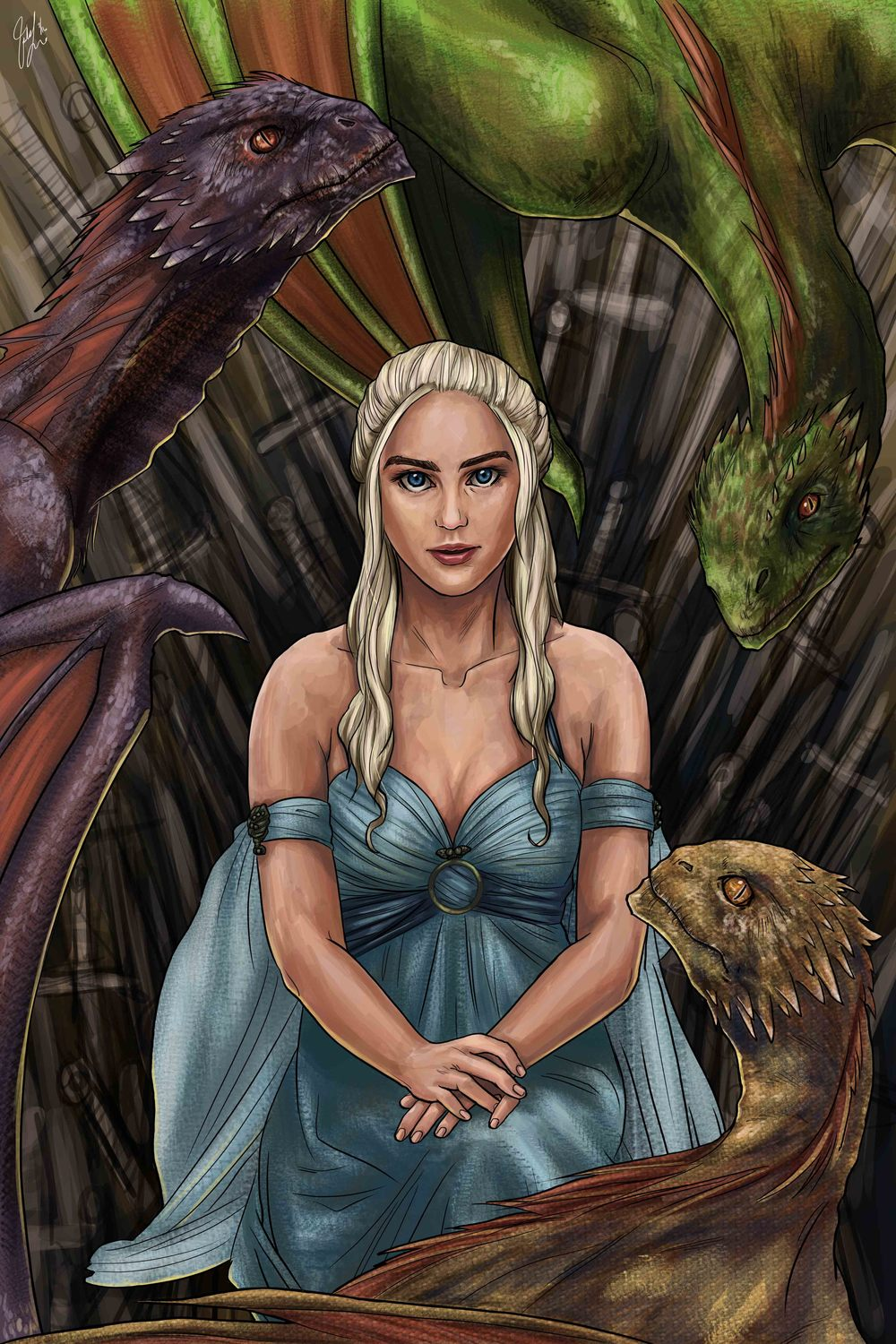 Game of Thrones - Long May She Reign (Fanart)