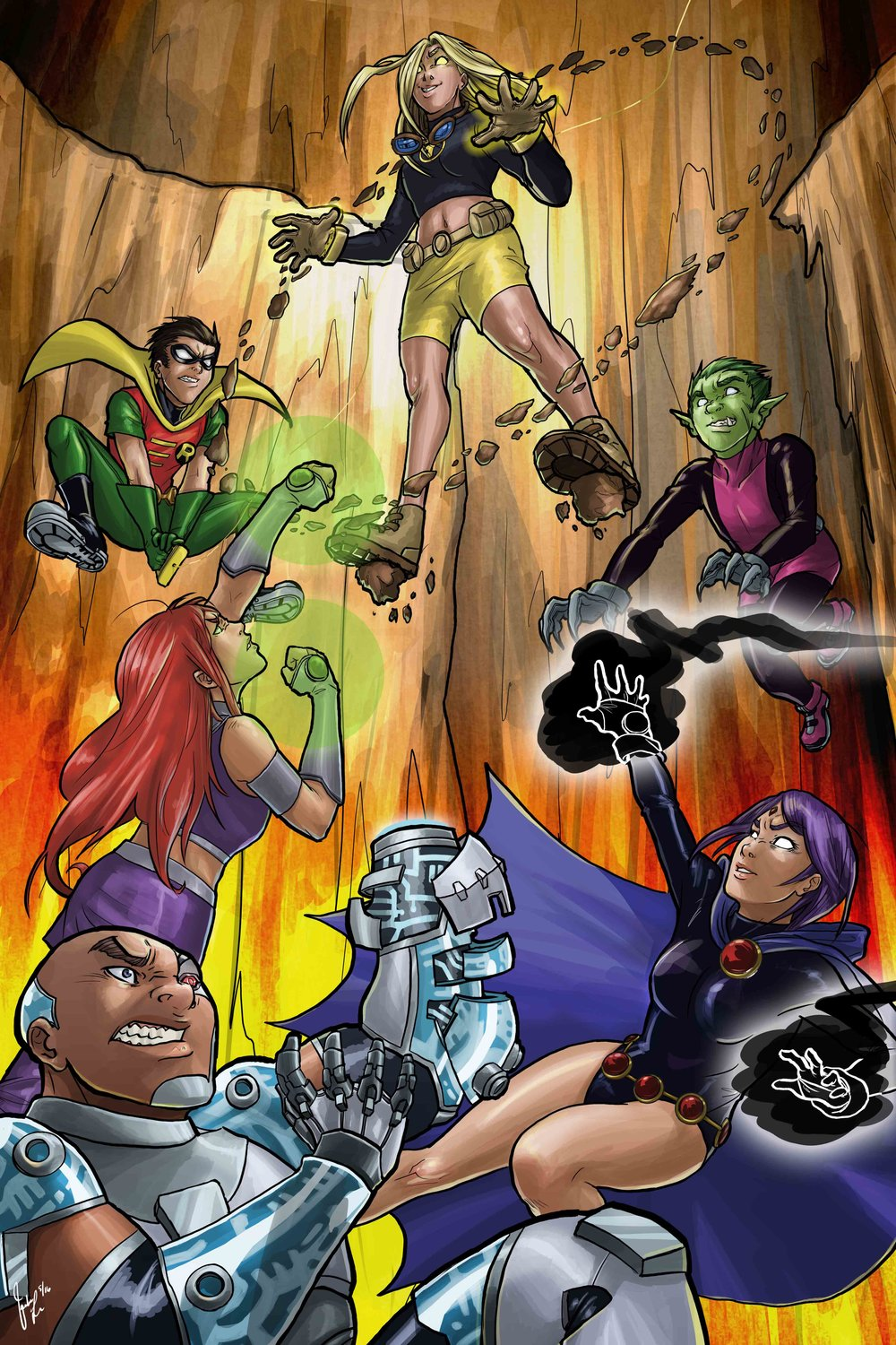 Teen Titans - Aftershock (FOR SALE)