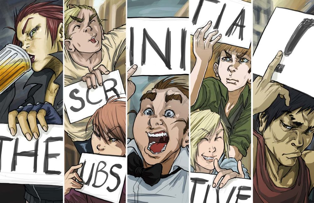 The [SCRUBS] Initiative - Signs (FOR SALE)