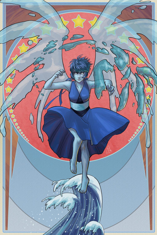 Steven Universe - Lapis (Fanart)
