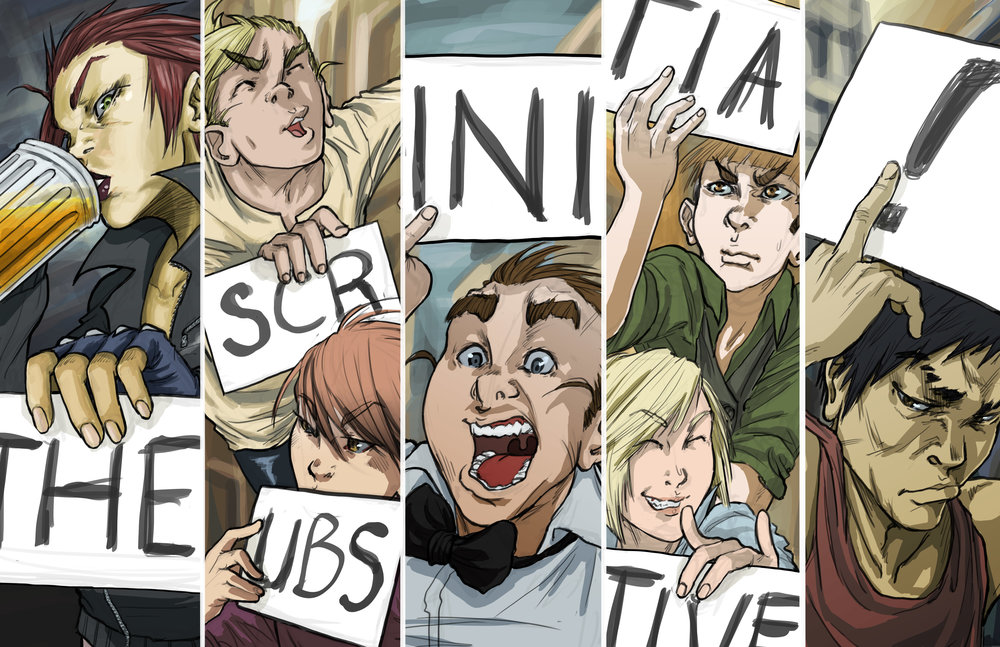 SCRUBS group shot - signs.jpg